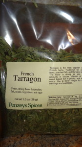 french tarragon from Penzeys