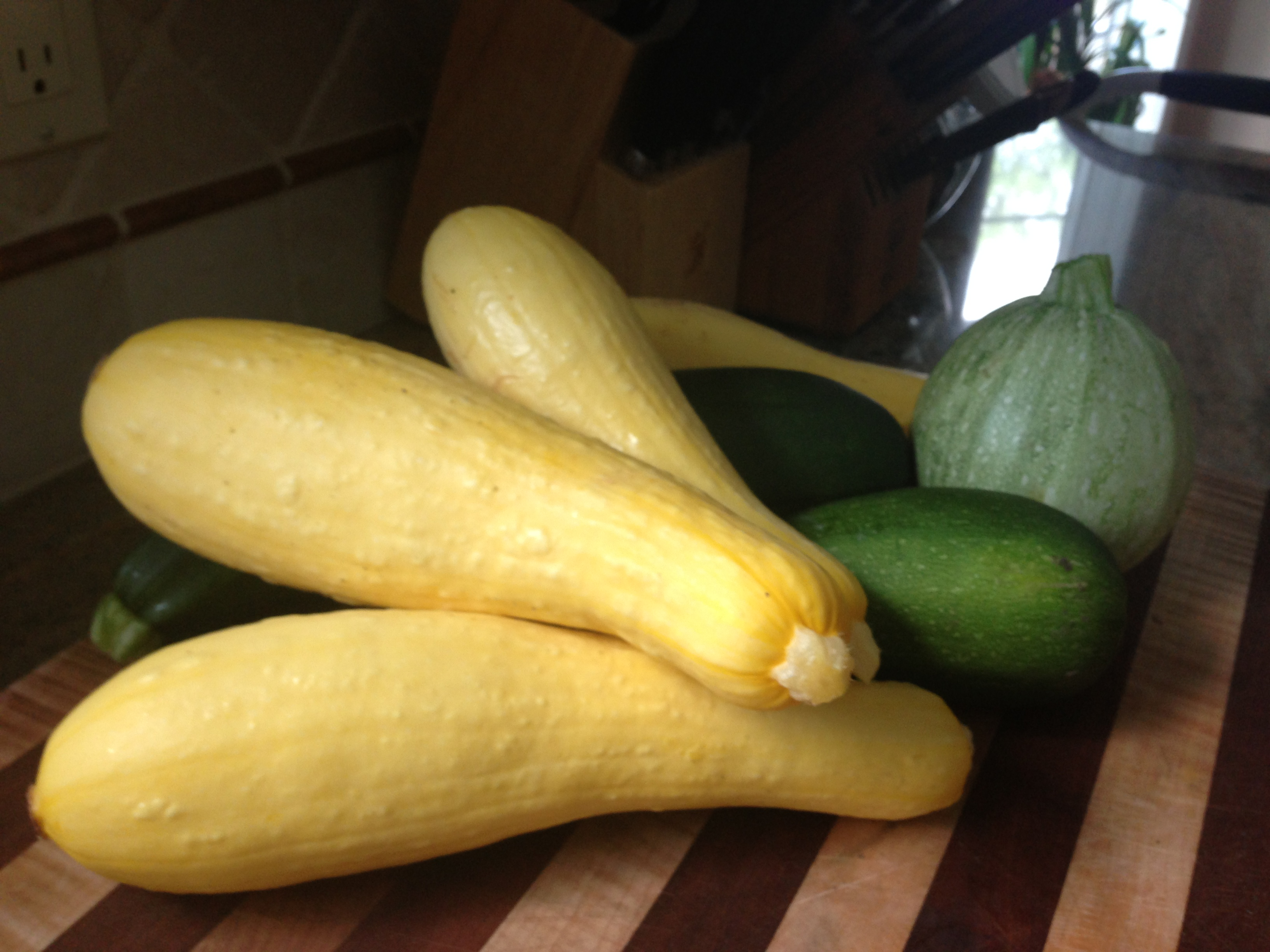 Post weekend garden squash