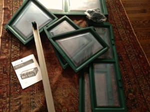 Coldframe assembly underway