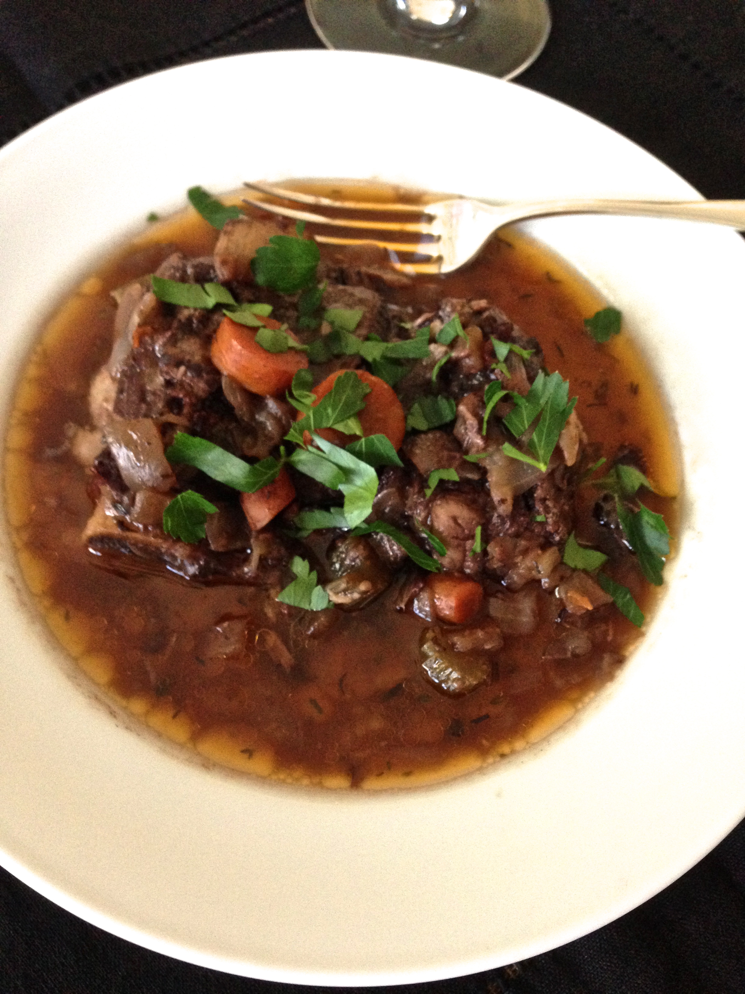 Short Ribs in Red Wine