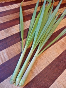 Lemon Grass for Grilled Sea Scallops