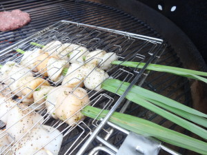 Lemon Grass Grilled Sea Scallops