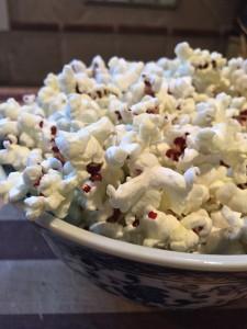 Homegrown Strawberry Popcorn