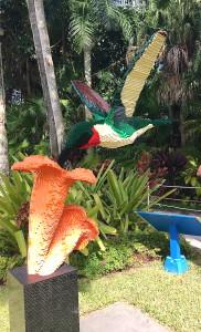 Lego's at the McKee Botanical Garden