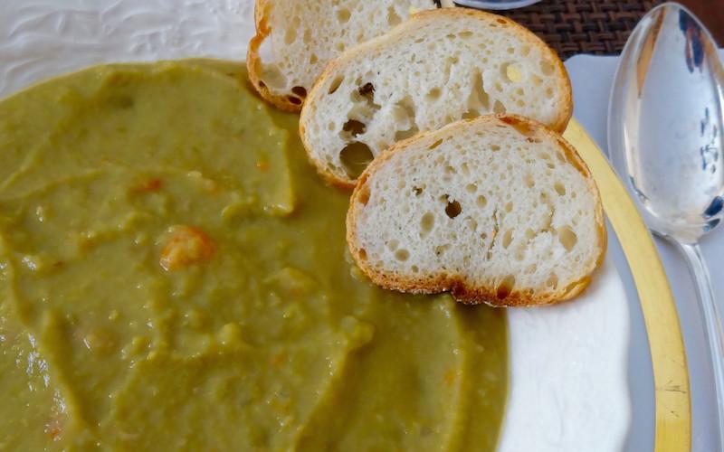 Old School Split Pea Soup