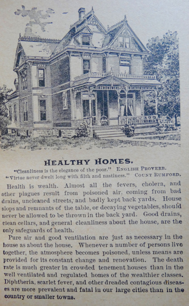 Home Keeping Circa 1894